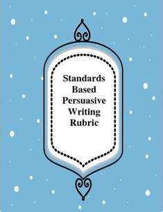 English II Writing Persuasive Writing Rubric - PDF